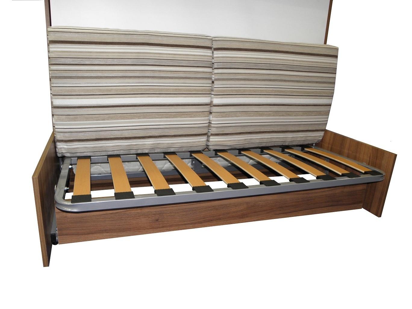 wandbett mit sofa wbs 1 classic 140x200 cm holzfarbe wei. Black Bedroom Furniture Sets. Home Design Ideas