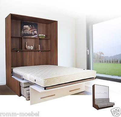 Wandbett mit sofa wbs 1 classic 140 x 200 cm in for Sofa 300 x 200