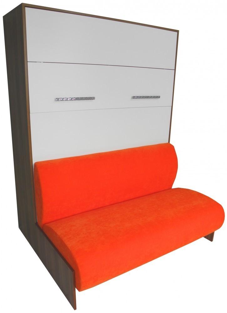 wandbett mit sofa wbs 2 classic 140 x 200 cm in. Black Bedroom Furniture Sets. Home Design Ideas