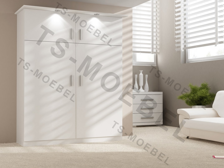 wandbett 50 w 2 140x200 cm holzfarbe weiss hochkant. Black Bedroom Furniture Sets. Home Design Ideas