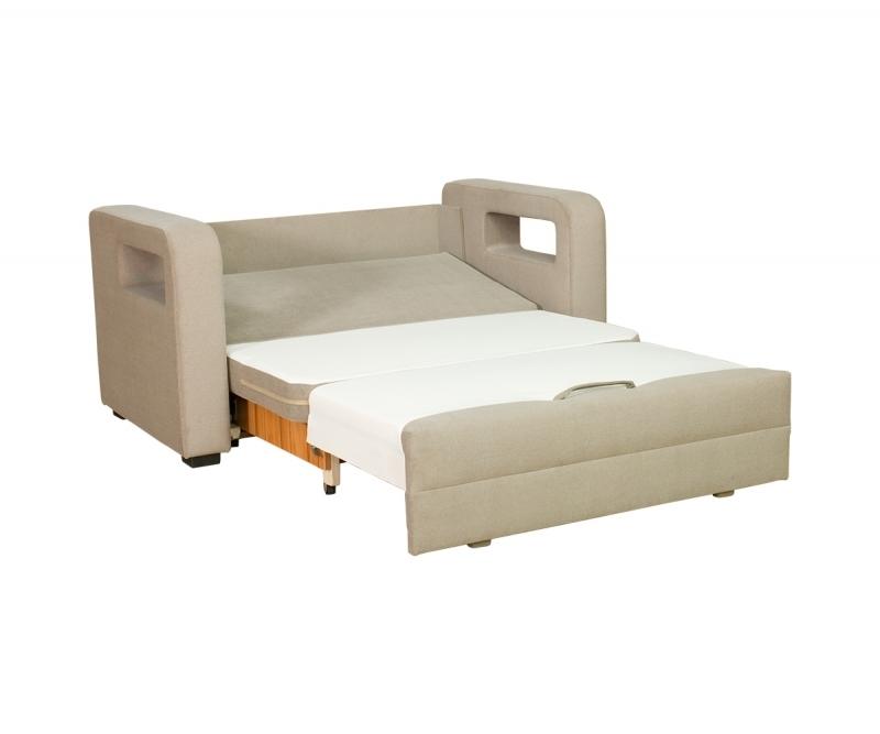 ... Sitzer Sofa KARMEN mit Bettkasten und Schlaffunktion in Grafit