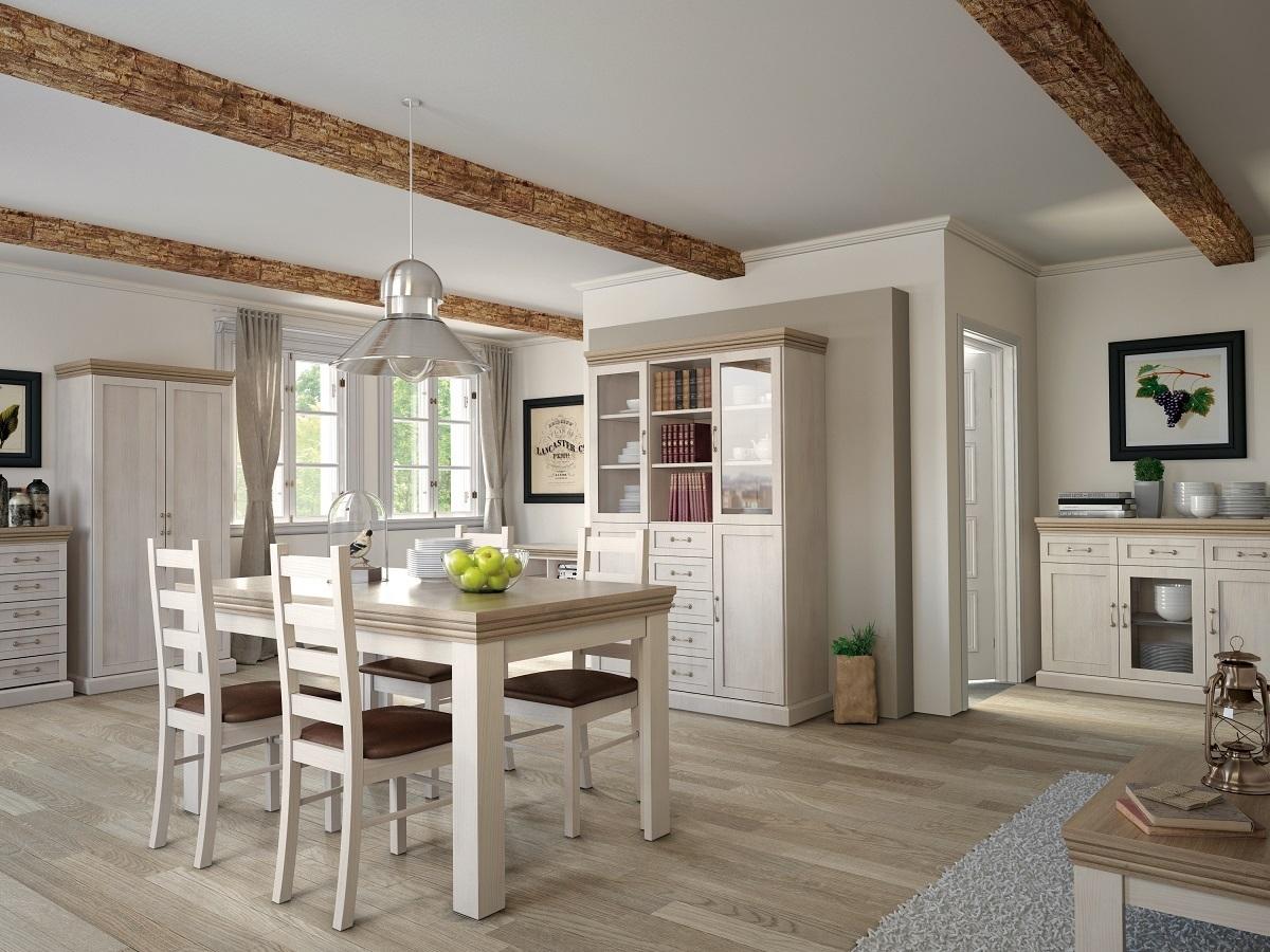 TS Möbel Kommode Royal K1S Holz Nordische Kiefer - Wildeiche NEU