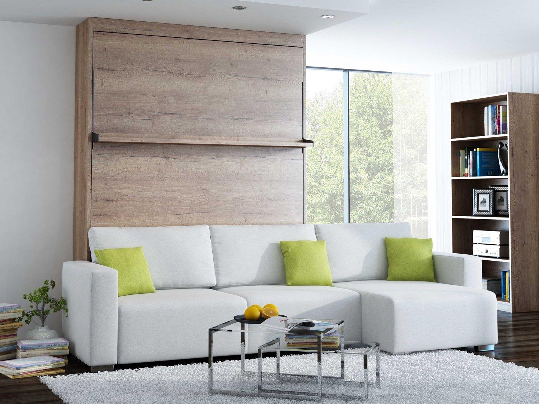 ts m bel wandbett m ecksofa leggio linea lw 160 x 200 cm halifax. Black Bedroom Furniture Sets. Home Design Ideas