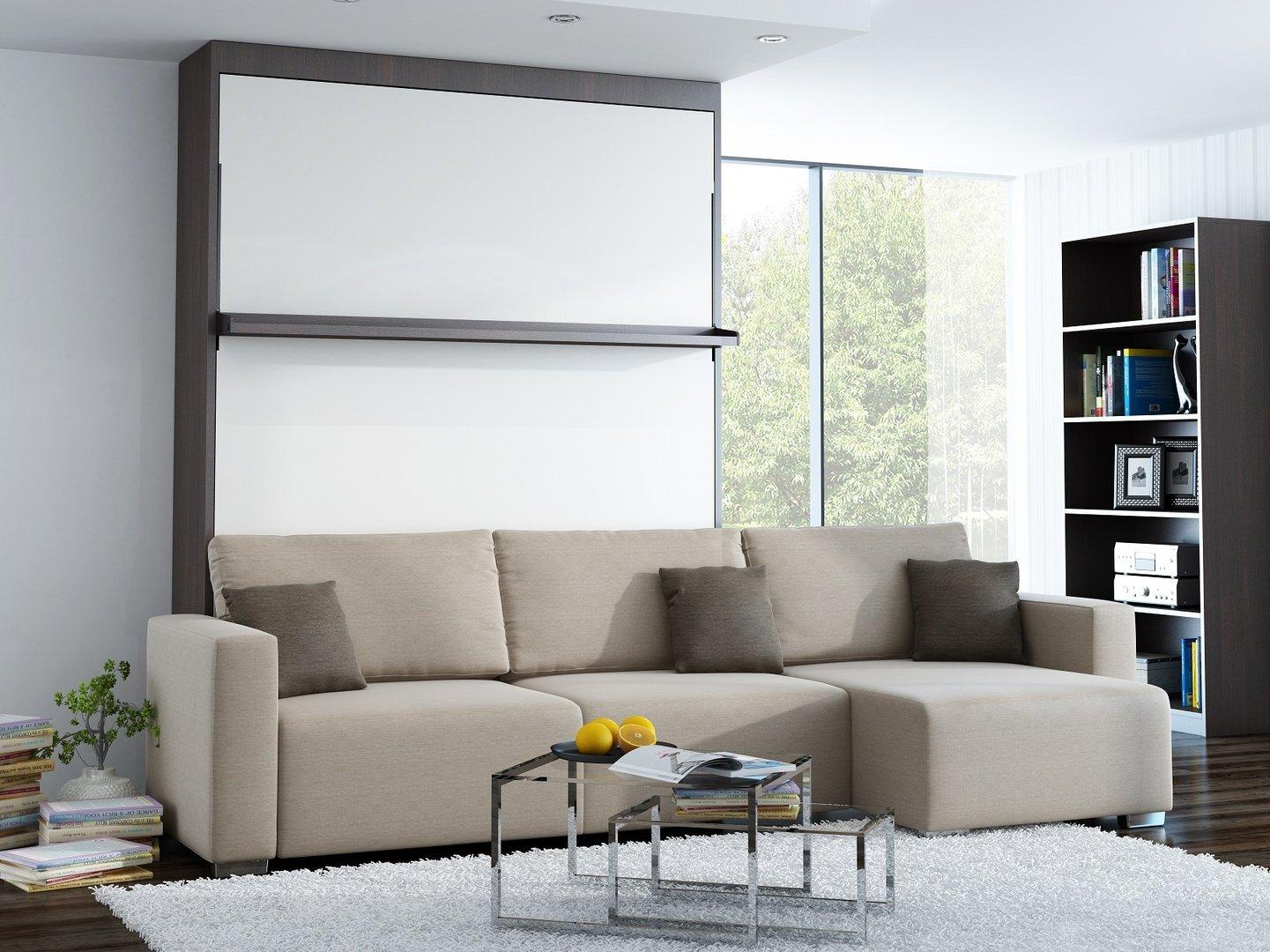 ts m bel wandbett mit sofa ecke leggio linea lw 140 x 200 cm. Black Bedroom Furniture Sets. Home Design Ideas
