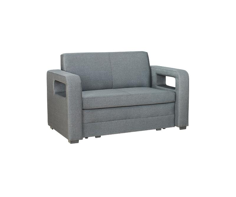 2 sitzer sofa karmen mit bettkasten und schlaffunktion in grafit. Black Bedroom Furniture Sets. Home Design Ideas