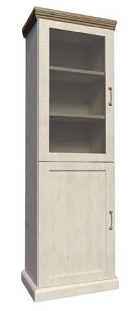 ts m bel vitrine royal w1d holz nordische kiefer wildeiche neu. Black Bedroom Furniture Sets. Home Design Ideas