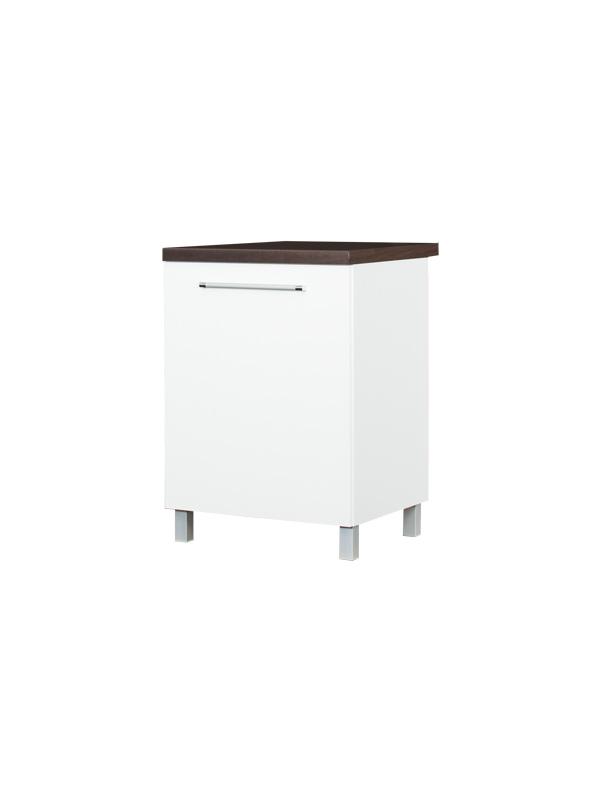 loara unterschrank f r sp le 60 cm holz hochglanz wei. Black Bedroom Furniture Sets. Home Design Ideas